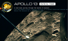 Apollo 13 in real time